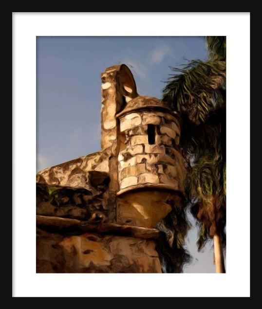 Baluarte de San Carlos 2 Framed