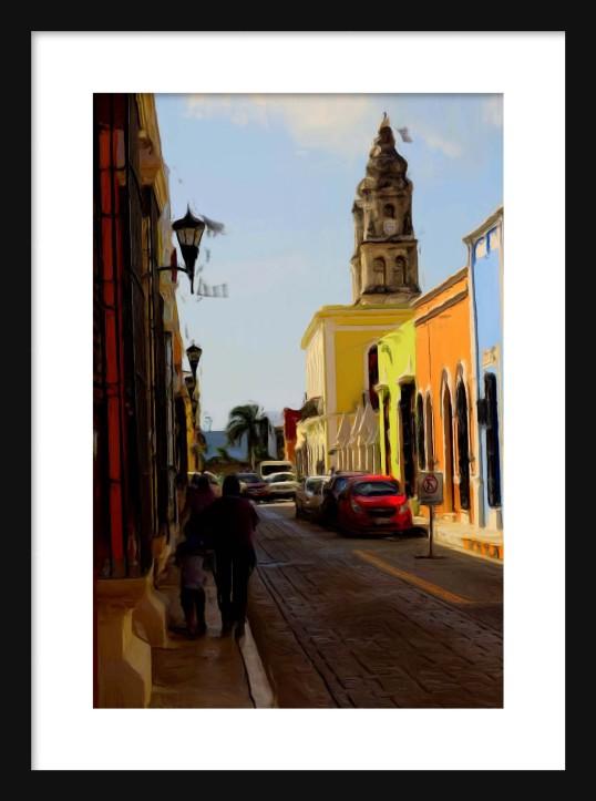 Campeche Framed