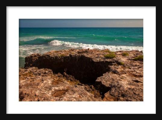 Carribean Framed