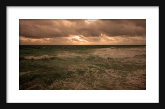 Carribean VI Framed