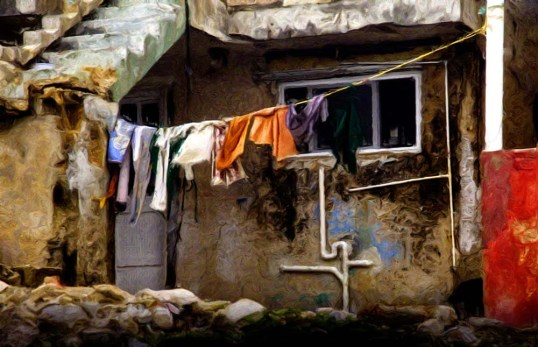 Laundry Day Painting LR