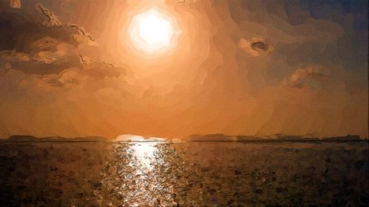 Puerto de Campeche Sunset-1LR