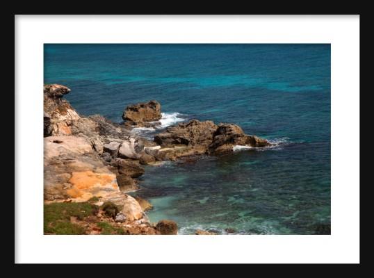Punta Sur Framed