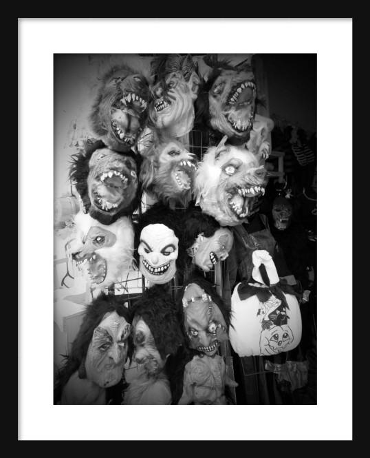 Masks Framed
