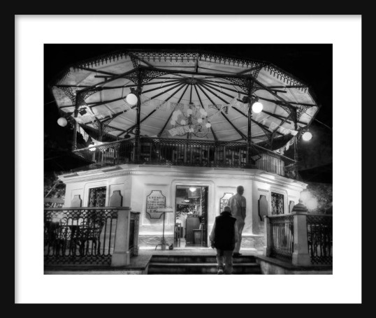 Plaza Gazebo Framed II