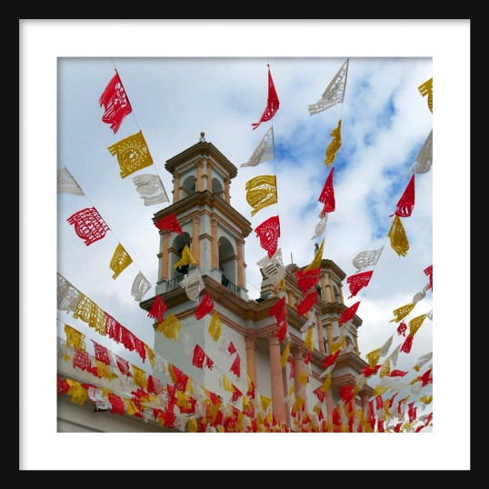 Prayer Flags Framed II