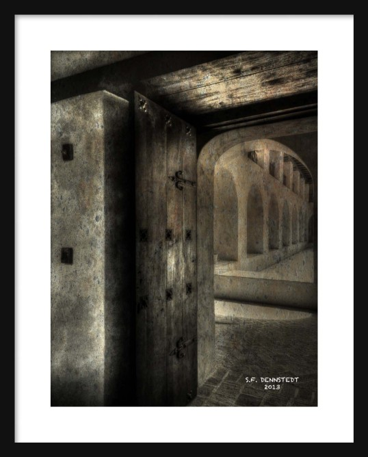 Catacombs Framed
