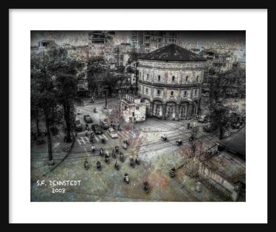 Morning Hanoi Framed