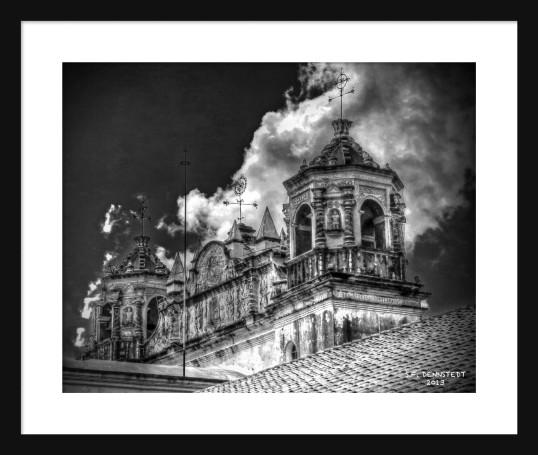 Templo de Santo Domingo Framed