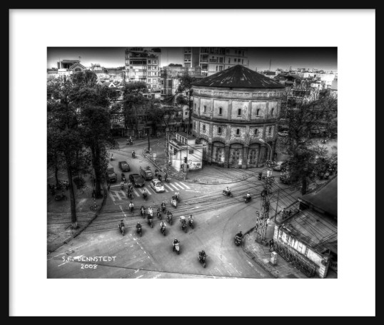 Hanoi Morning Framed