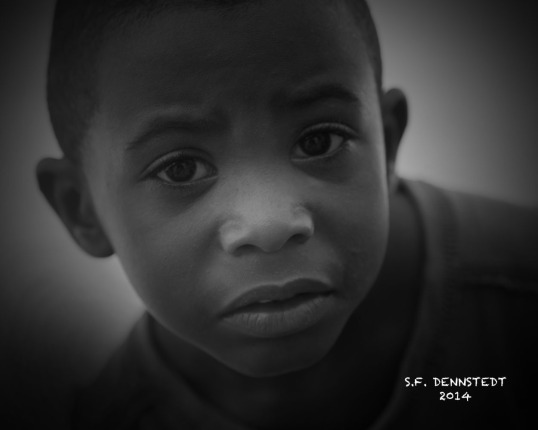 Portrait of Boy BW WEB w Sig