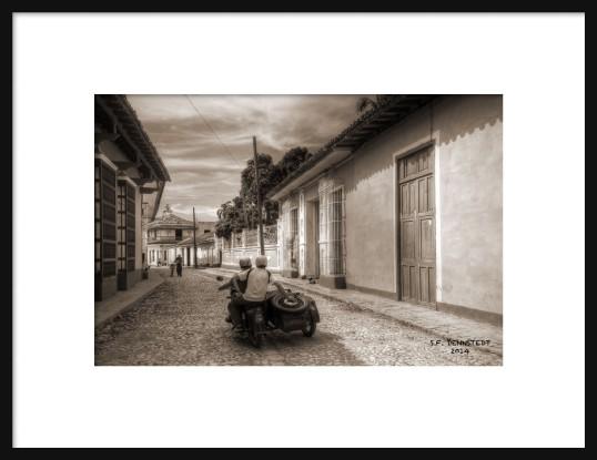 Trinidad Motorcycle Framed
