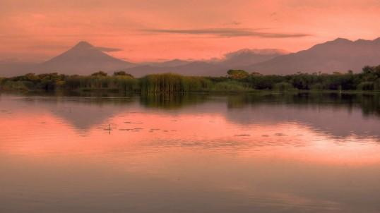 Monterrico Swamp Sunrise2 WEB