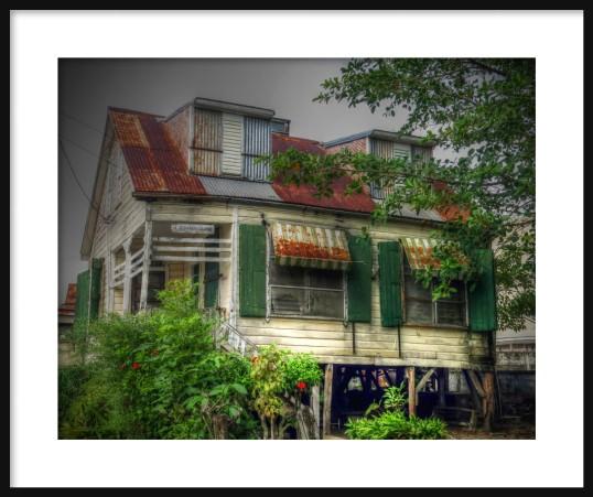 Old House Framed