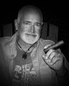 Joel w Cigar 1 BW HC WEB