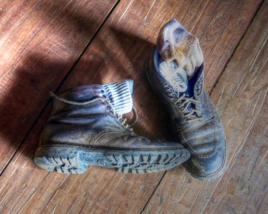 Steve's Alden Boots