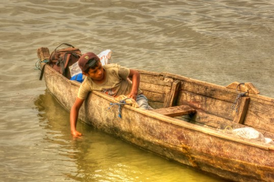 San Carlos Boy in Boat II WEB