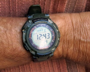 Steve's Casio Pathfinder Watch