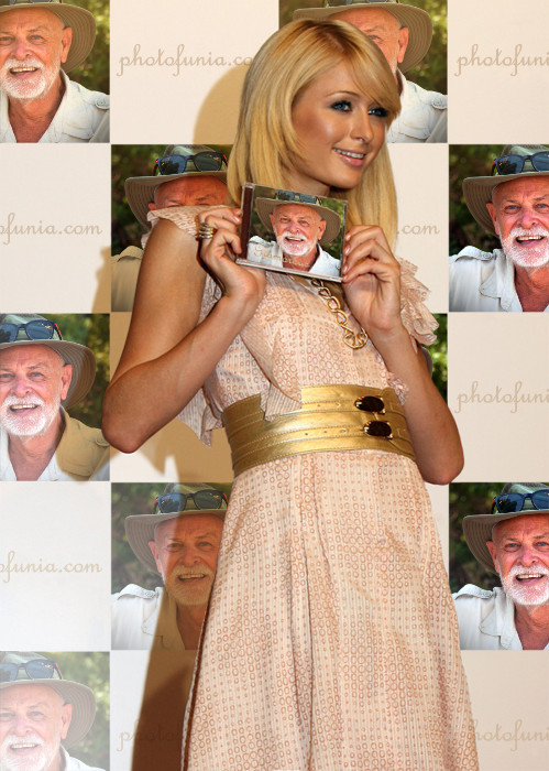 Stephen and Paris Hilton
