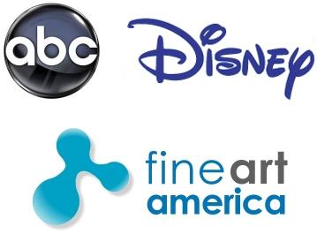 LogoFineArtAmericaABCDisney