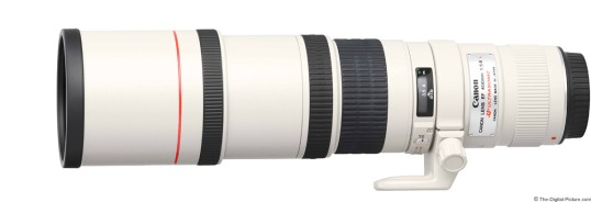 Canon EF 400mm f/5.6L USM Super-telephoto Prime Lens